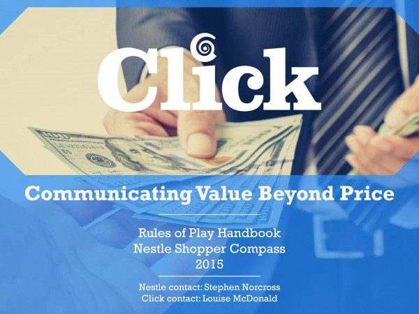 Communicating Value Beyond Price