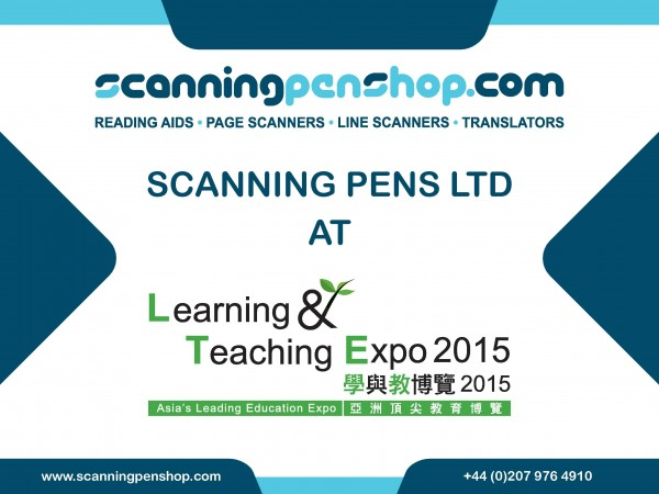Scanning Pen Ltd At Learning And Teaching Expo 2015