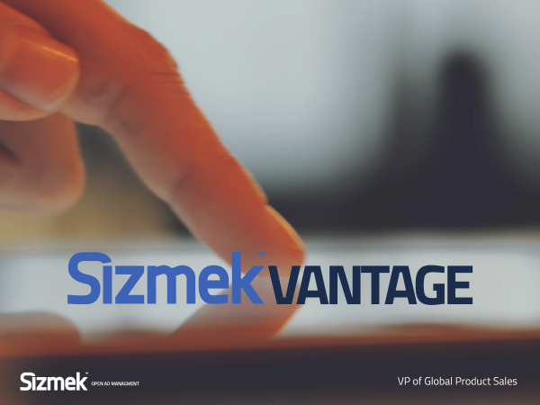 Sizmek Vantage VP of Global Product Sales